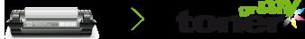 Rückgabe des benutzten Rebuilt Toners an einen my green toner Händler zum Recyceln der Tonerkartusche